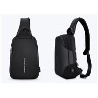 Однолямочный рюкзак Mark Ryden 7056  черный