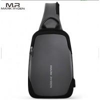 Однолямочный рюкзак Mark Ryden 7056  серый