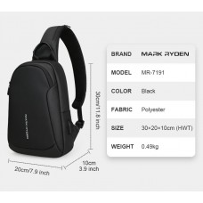 Однолямочный рюкзак Mark Ryden MR7191